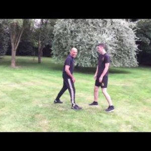 Double-Arm Low Swinging Forearm Conditioning