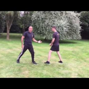 Inverted Kick Outer Thigh Conditioning