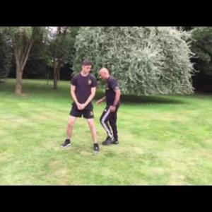 Round Kick Hamstring Conditioning